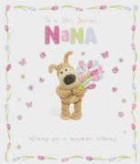 Boofle Nana Birthday Card